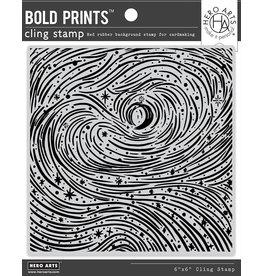 HERO ARTS Etched Winter Swirls Bold Prints