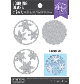 HERO ARTS Looking Glass Snowflake Dies