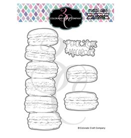 Colorado Craft Co Slimline Macarons Die