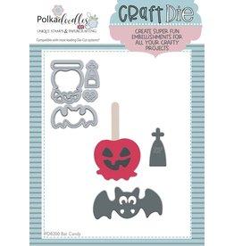 Polkadoodles Bat Candy Die