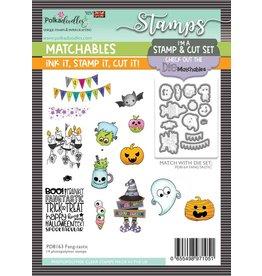 Polkadoodles Fang-tastic Stamp