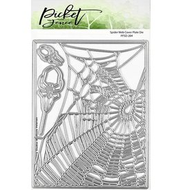 Picket Fence Spider Web Cover Plate Die