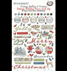 49 and Market Peace & Joy: Epoxy Stickers