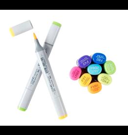 copic FLUORESCENT Copic Sketch Markers