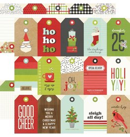 simple stories Make it Merry Paper - Tags