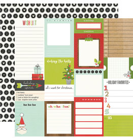 simple stories Make it Merry Paper - Journal Elements