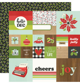 simple stories Make it Merry Paper  - 2x2/4x4 Elements