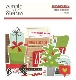 simple stories Make it Merry  - Bits & Pieces