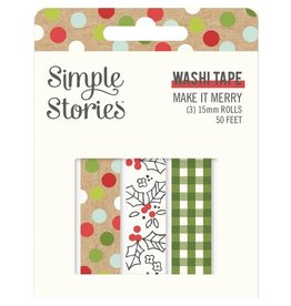 simple stories Make it Merry  - Washi Tape