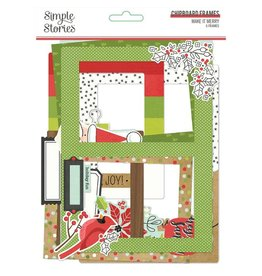 simple stories Make it Merry -  Chipboard Frames