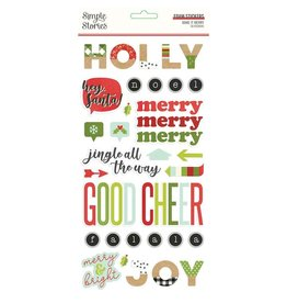 simple stories Make it Merry - Foam Stickers