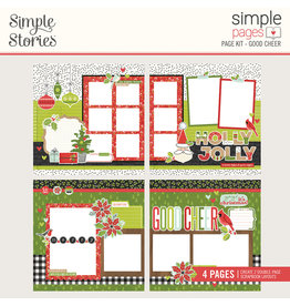 simple stories Make it Merry- Simple Pages Page Kit - Good Cheer