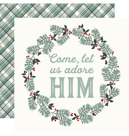 simple stories Oh, Holy Night  Paper- Adore Him