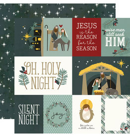 simple stories Oh, Holy Night  Paper- Element Cards