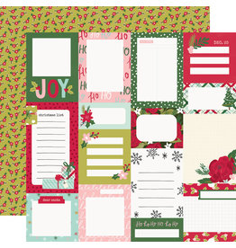simple stories Holly Days  Paper- Journal Elements