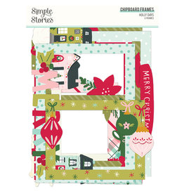 simple stories Holly Days -  Chipboard Frames