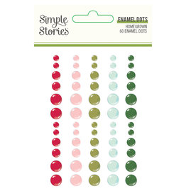 simple stories Holly Days - Enamel Dots