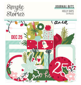 simple stories Holly Days - Journal Bits