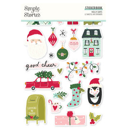 simple stories Holly Days - Sticker Book