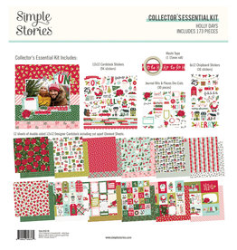simple stories Holly Days- Collector's Essential Kit