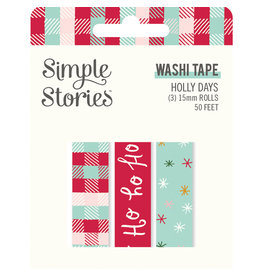 simple stories Holly Days- Washi Tape