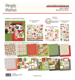 simple stories Make it Merry  - Collector's Essential Kit