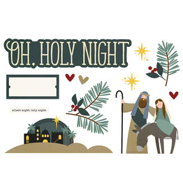 simple stories Simple Pages Page Pieces - Oh, Holy Night