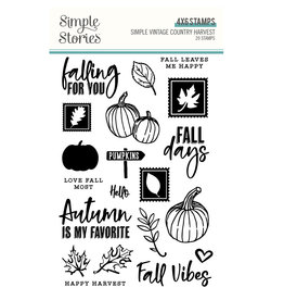 Simple Stories Simple Vintage Country Harvest  - Stamps