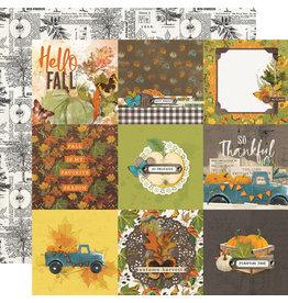 Simple Stories Simple Vintage Country Harvest  Paper- 4x4 Elements