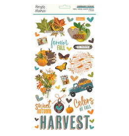 Simple Stories Simple Vintage Country Harvest -  6x12 Chipboard