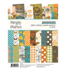 Simple Stories Simple Vintage Country Harvest -  6x8 Pad