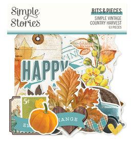 Simple Stories Simple Vintage Country Harvest -  Bits & Pieces