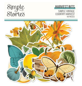 Simple Stories Simple Vintage Country Harvest -  Harvest Bits & Pieces