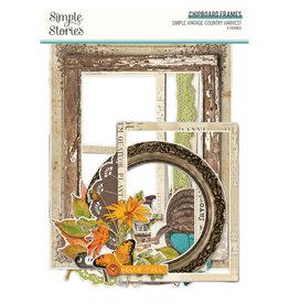 Simple Stories Simple Vintage Country Harvest - Chipboard Frames