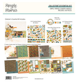 Simple Stories Simple Vintage Country Harvest - Collector's Essential Kit