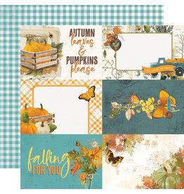 Simple Stories Simple Vintage Country Harvest Paper - 4x6 Elements