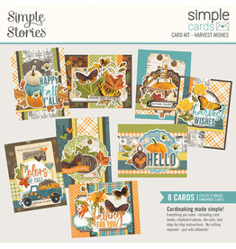 Simple Stories Simple Vintage Country Harvest Simple Cards Card Kit - Harvest Wishes