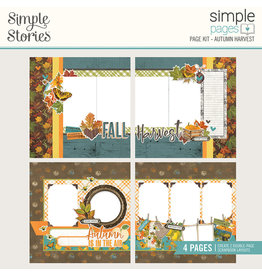 Simple Stories Simple Vintage Country Harvest Simple Pages Page Kit - Autumn Harvest