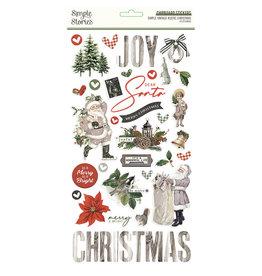 simple stories Simple Vintage Rustic Christmas -  6x12 Chipboard