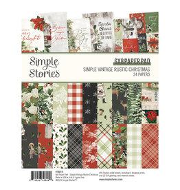 Simple Stories Simple Vintage Rustic Christmas -  6x8 Pad