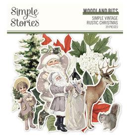 simple stories Simple Vintage Rustic Christmas -  Woodland Bits & Pieces