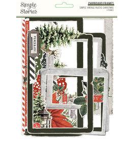 simple stories Simple Vintage Rustic Christmas - Chipboard Frames