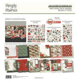 simple stories Simple Vintage Rustic Christmas - Collector's Essential Kit