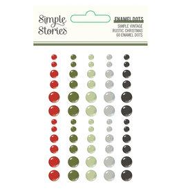 simple stories Simple Vintage Rustic Christmas - Enamel Dots