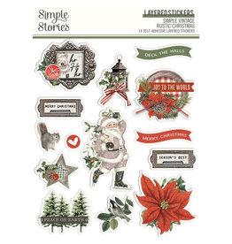simple stories Simple Vintage Rustic Christmas - Layered Stickers