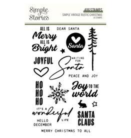 simple stories Simple Vintage Rustic Christmas - Stamps