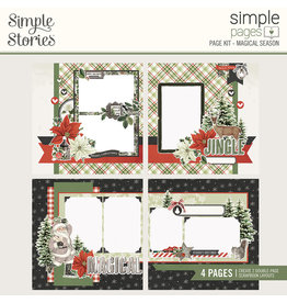 simple stories Simple Vintage Rustic Christmas Simple Pages Page Kit - Magical Season