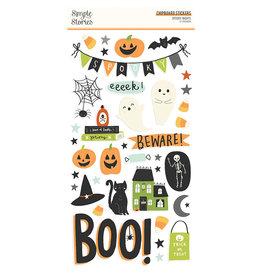 simple stories Spooky Nights - 6x12 Chipboard