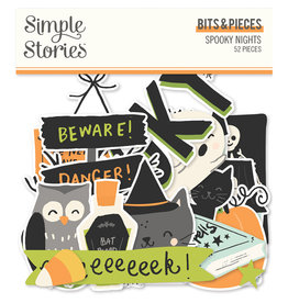 simple stories Spooky Nights - Bits & Pieces