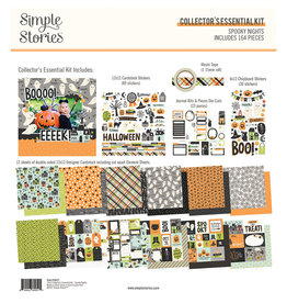 simple stories Spooky Nights - Collector's Essential Kit